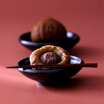 画像1: 栗ケーキ 5個入 (1)
